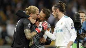 Loris Karius Gareth Bale Liverpool Real Madrid 2017-18