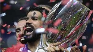 Diego Costa Atlético de Madrid Real Madrid Supercopa UEFA 15 08 2018
