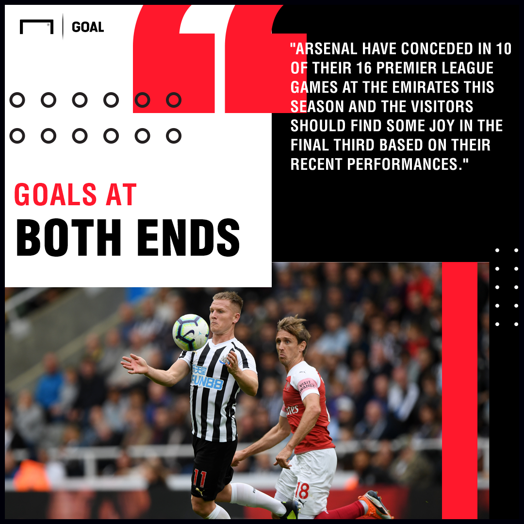Arsenal v Newcastle United Betting Preview