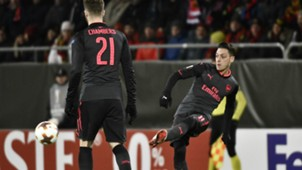 Mesut Özil Arsenal Europa League 15022018