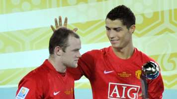 Wayne Rooney Cristiano Ronaldo Manchester United 2008