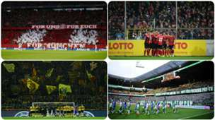 Best bezochte stadions Bundesliga GFX