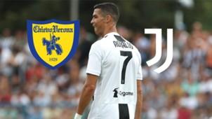 Juventus Turin Chievo Verona LIVE-STREAM TV DAZN Ronaldo