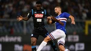 Gaston Ramirez Amadou Diawara Sampdoria Napoli Serie A
