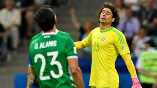 Guillermo Ochoa Oswaldo Alanís Mexico Germany Confederations Cup