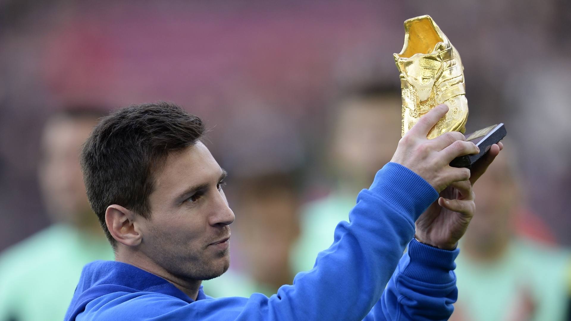 Lionel Messi, Golden Shoe