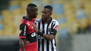 Vinicius Junior Robinho Flamengo Atletico-MG Brasileirao Serie A 13052017