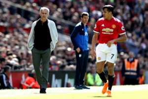 José Mourinho & Alexis Sánchez - Manchester United