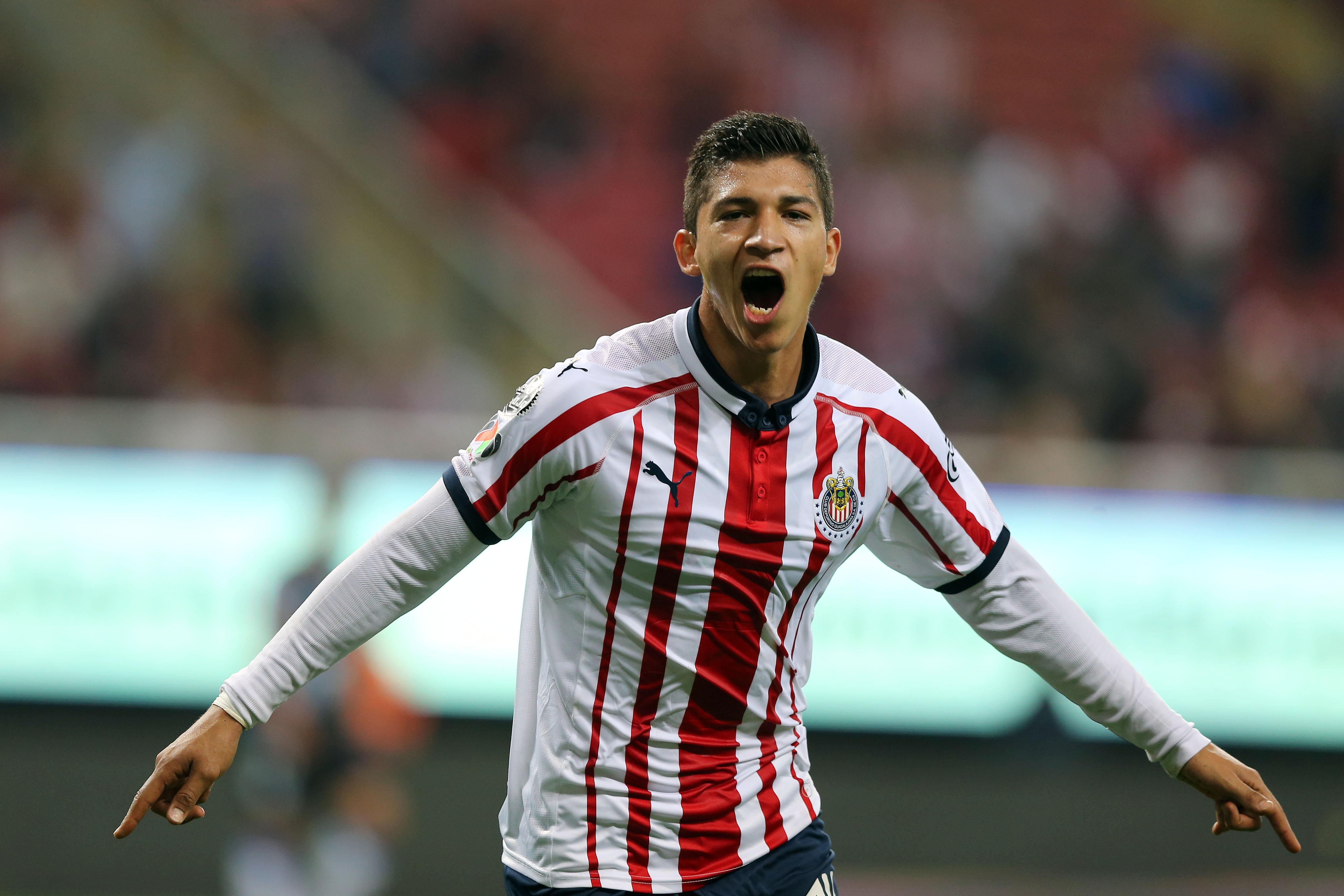 Ángel Zaldívar Chivas Liga MX Apertura 2018