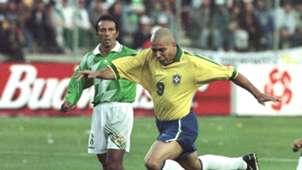 Brasil Bolivia Copa America 1997 Ronaldo