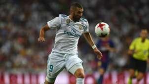 Real Madrid Karim Benzema 16082017