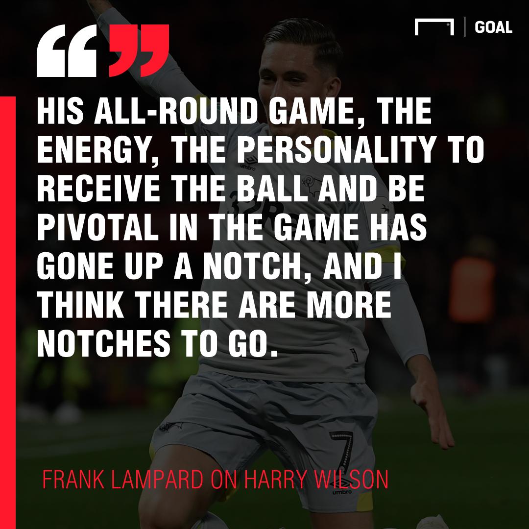Frank Lampard Harry Wilson 2018/19