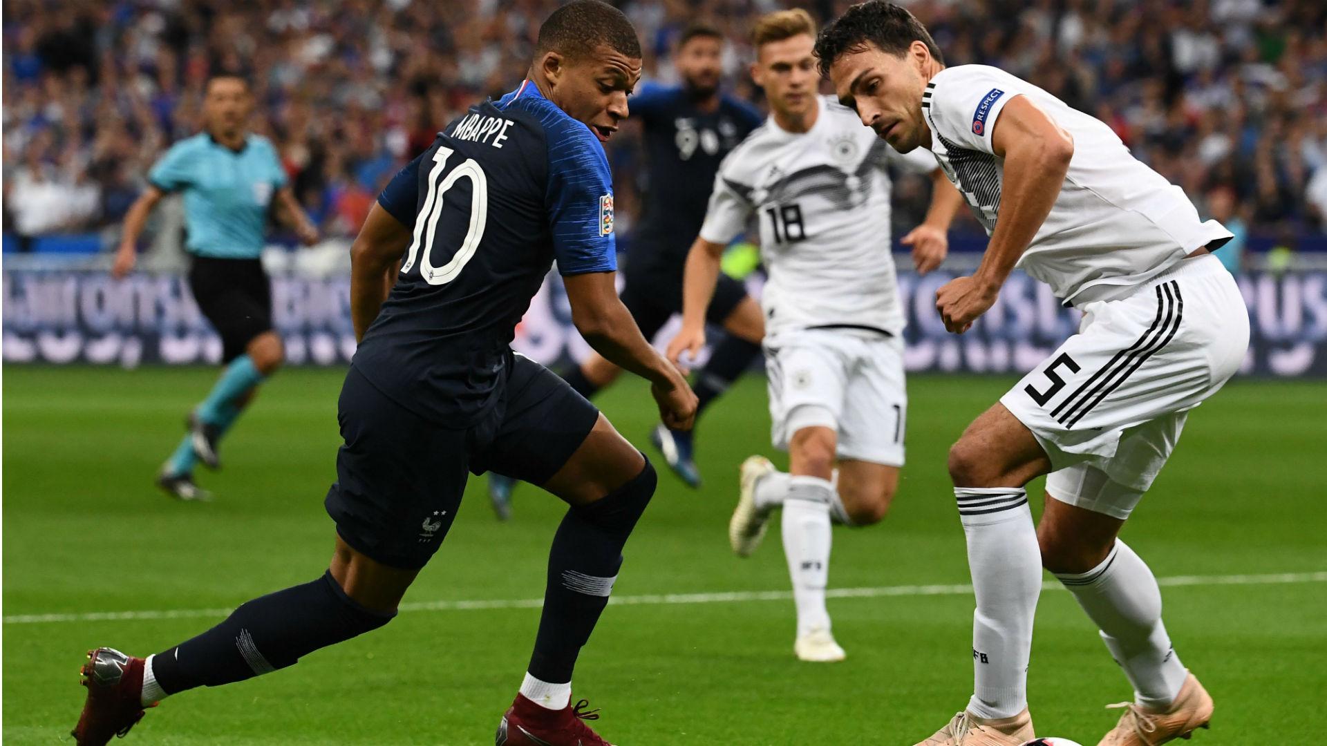 Kylian Mbappe France Germany Nations League