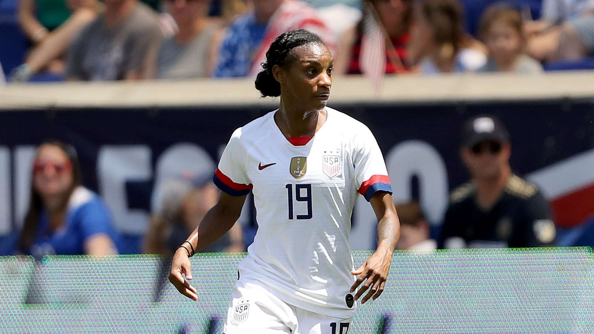 98eadb31175 USWNT  Crystal Dunn impresses and subs shine to put flattering finish on  lackluster day for starters