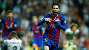 Lionel Messi Real Madrid Barcelona 24042017