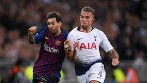 Tottenham Barcelona 2018