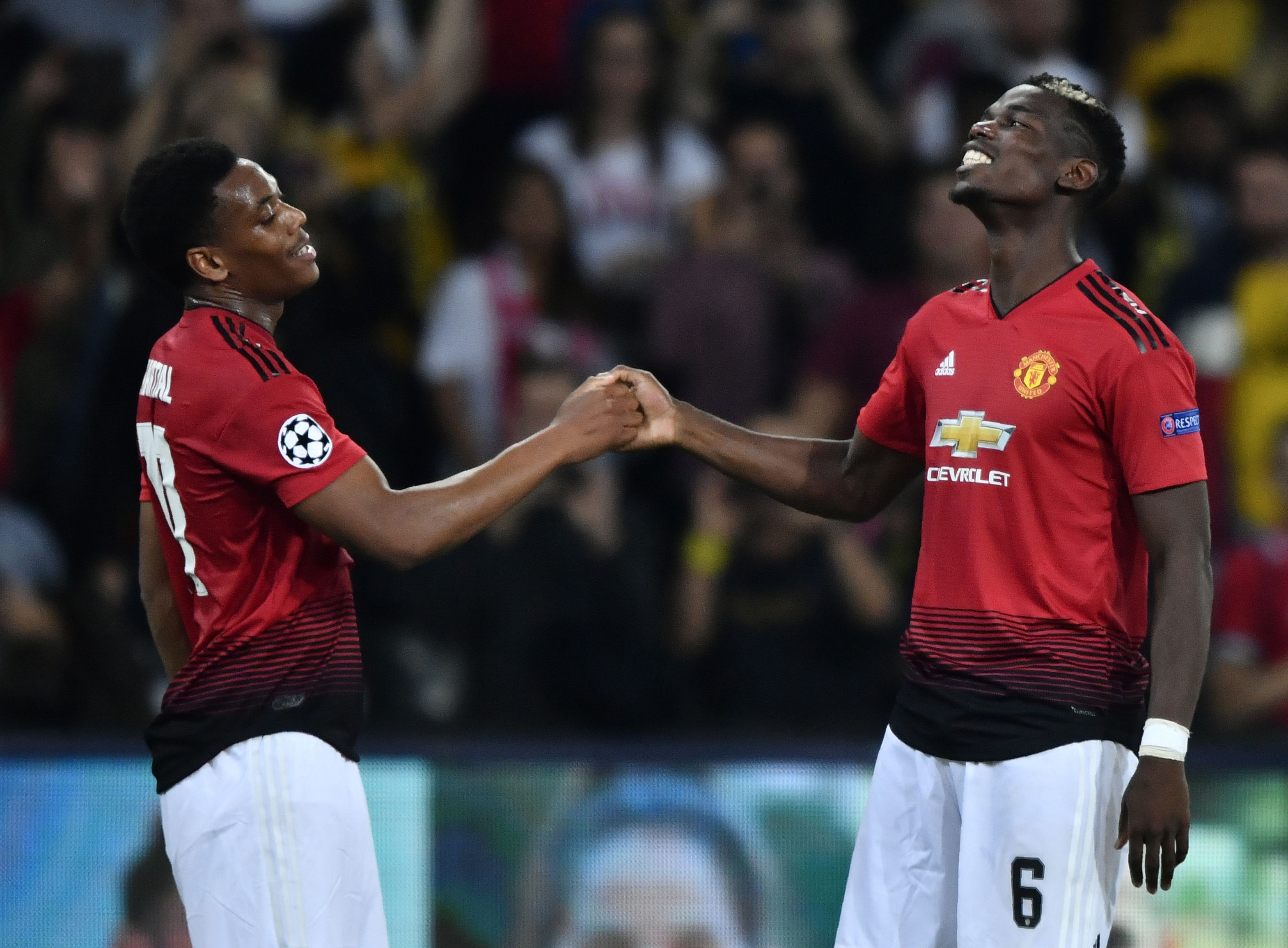 Young Boys Manchester United Champions League 19092018