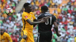 Eric Mathoho and Thamsanqa Gabuza - Kaizer Chiefs v Orlando Pirates