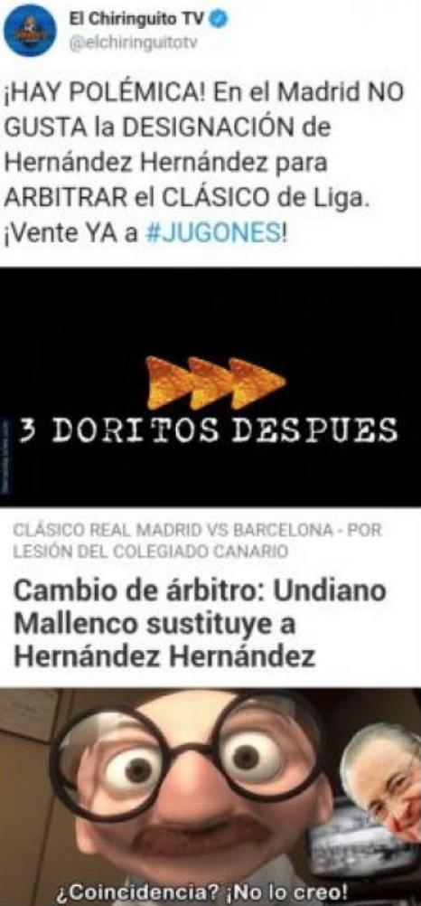 Memes Barcelona Real Madrid Liga 020319
