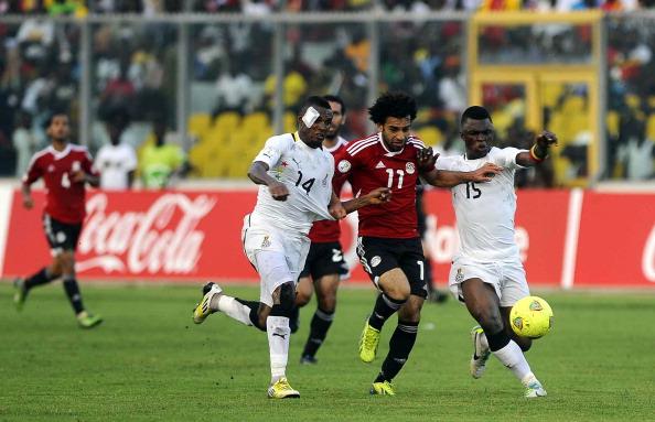 Salah vs Ghana 2013