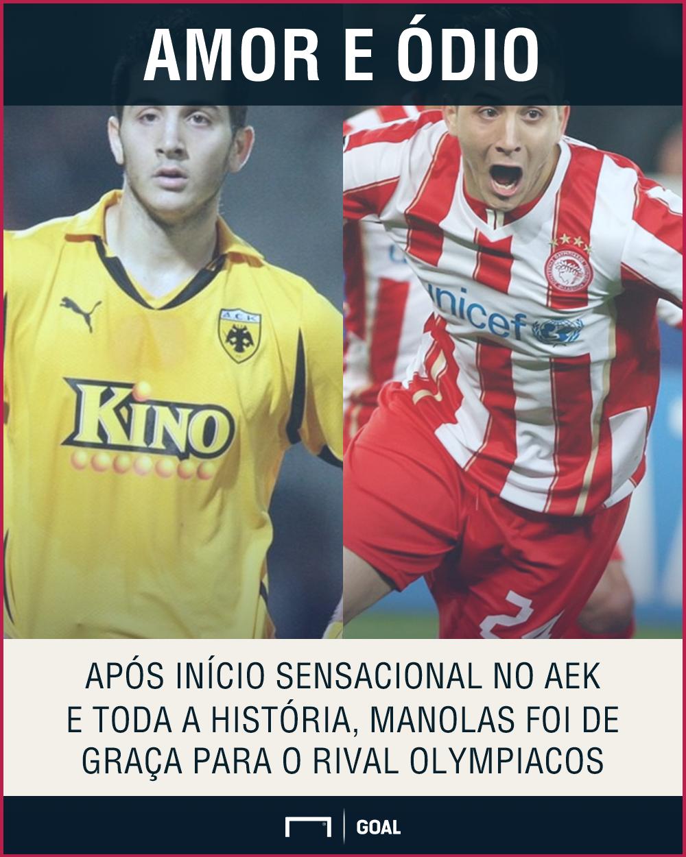 GFX Manolas AEK Atenas Olympiacos