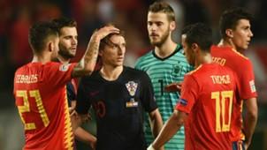 Luka Modric De Gea Croatia Spain 11092018