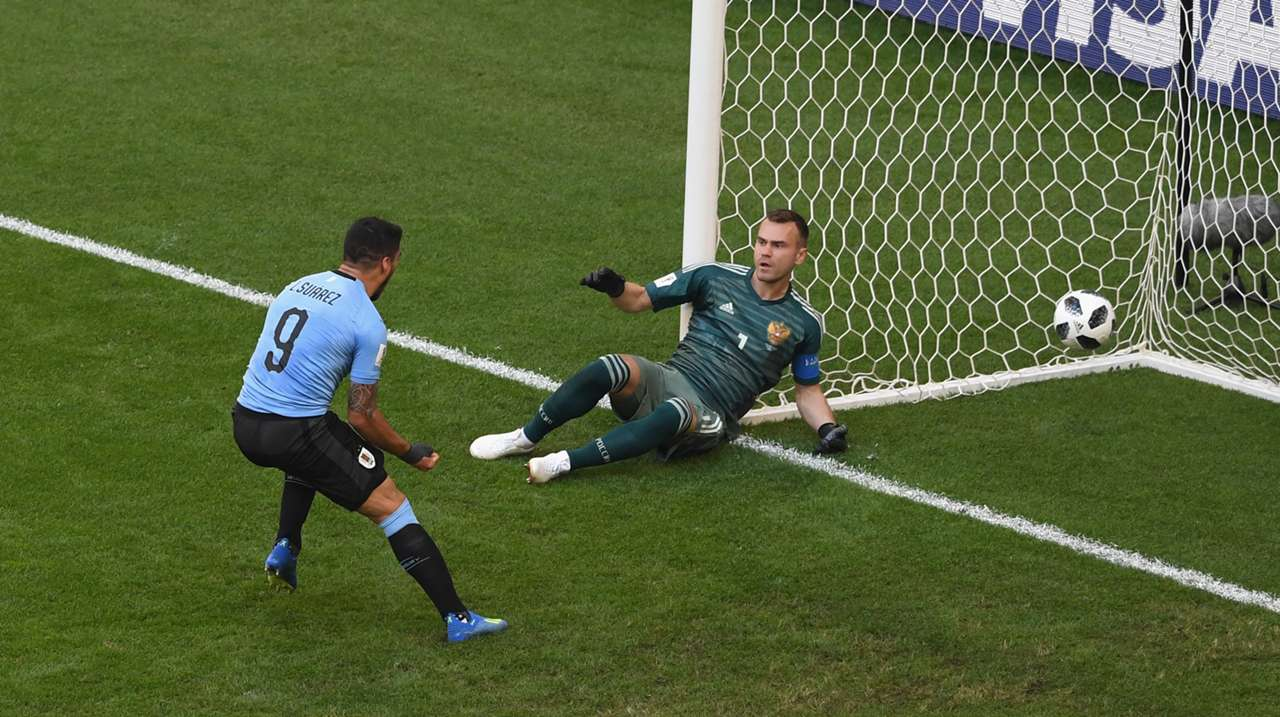 Luis Suarez Uruguay Russia