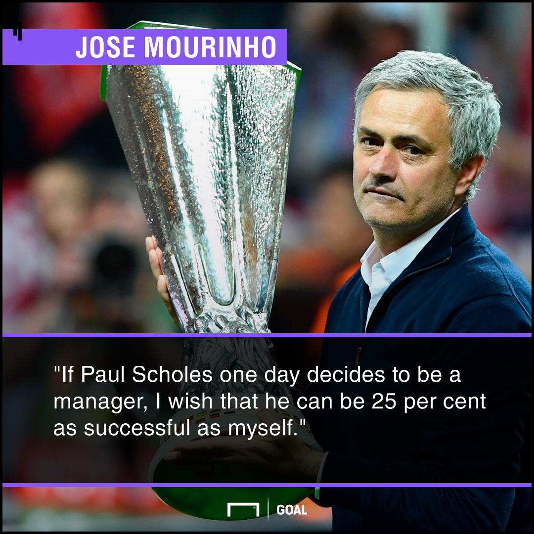 Jose Mourinho Scholes PS