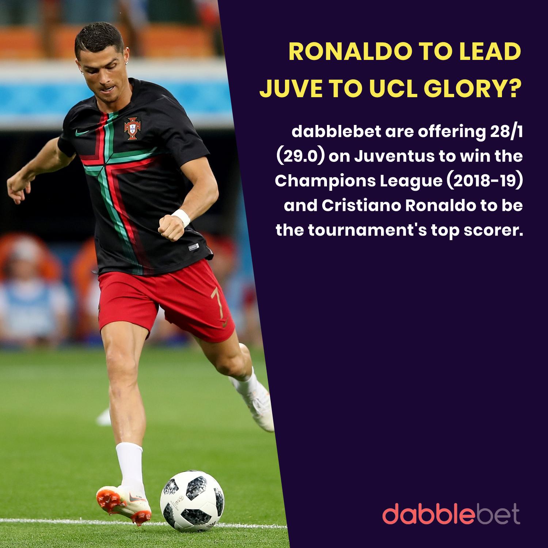 Cristiano Ronaldo Special odds dabblebet