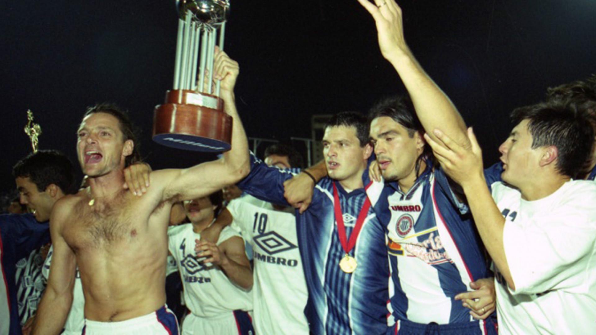 Talleres Cordoba Copa Conmebol 1999