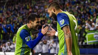 Clint Dempsey Victor Rodriguez Seattle Sounders MLS Playoffs