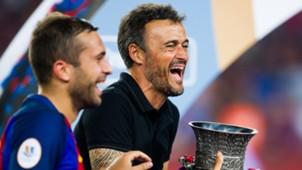 Jordi Alba & Luis Enrique - Barcelona