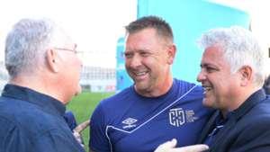 Cape Town City, Eric Tinkler & John Comitis