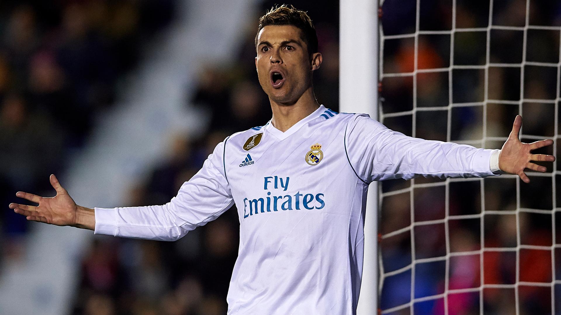 Cristiano Ronaldo Real Madrid Levante