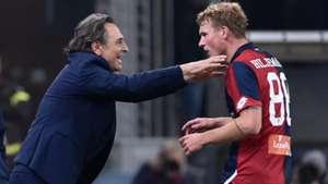 Genoa Oscar Hiljemark Cesare Prandelli Serie A