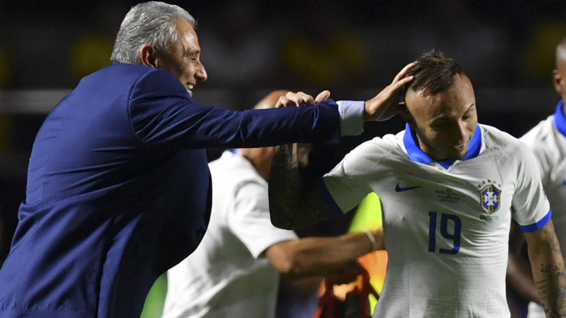 Tite Everton Cebolinha Brasil Bolivia 17 06 2019