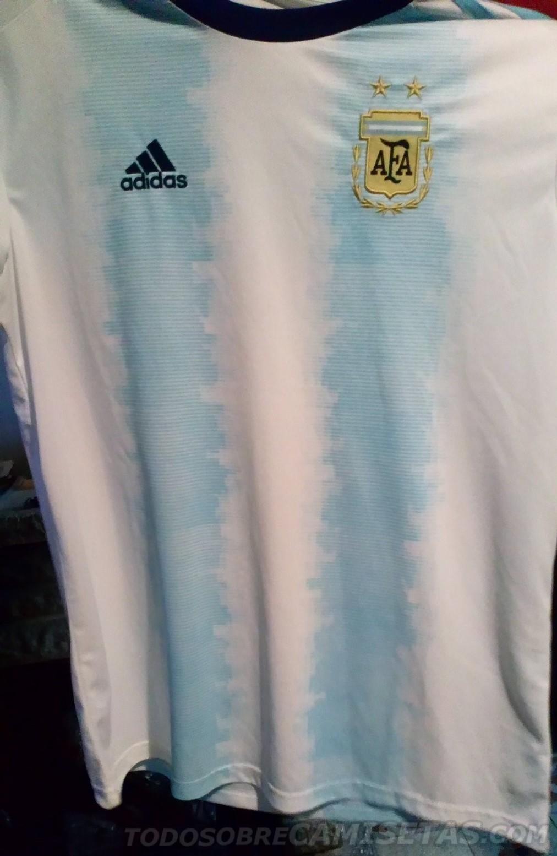 ¿La nueva camiseta de la Selección argentina para la Copa América 2019  6ec723c954d12