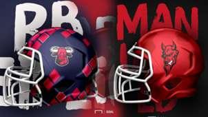 GFX Football Helmet Cover Slide