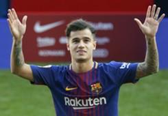 Coutinho presentation Barcelona
