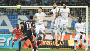 Neymar Marseille PSG Ligue 1 22102017