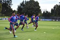 Colombia entrenamiento 2018