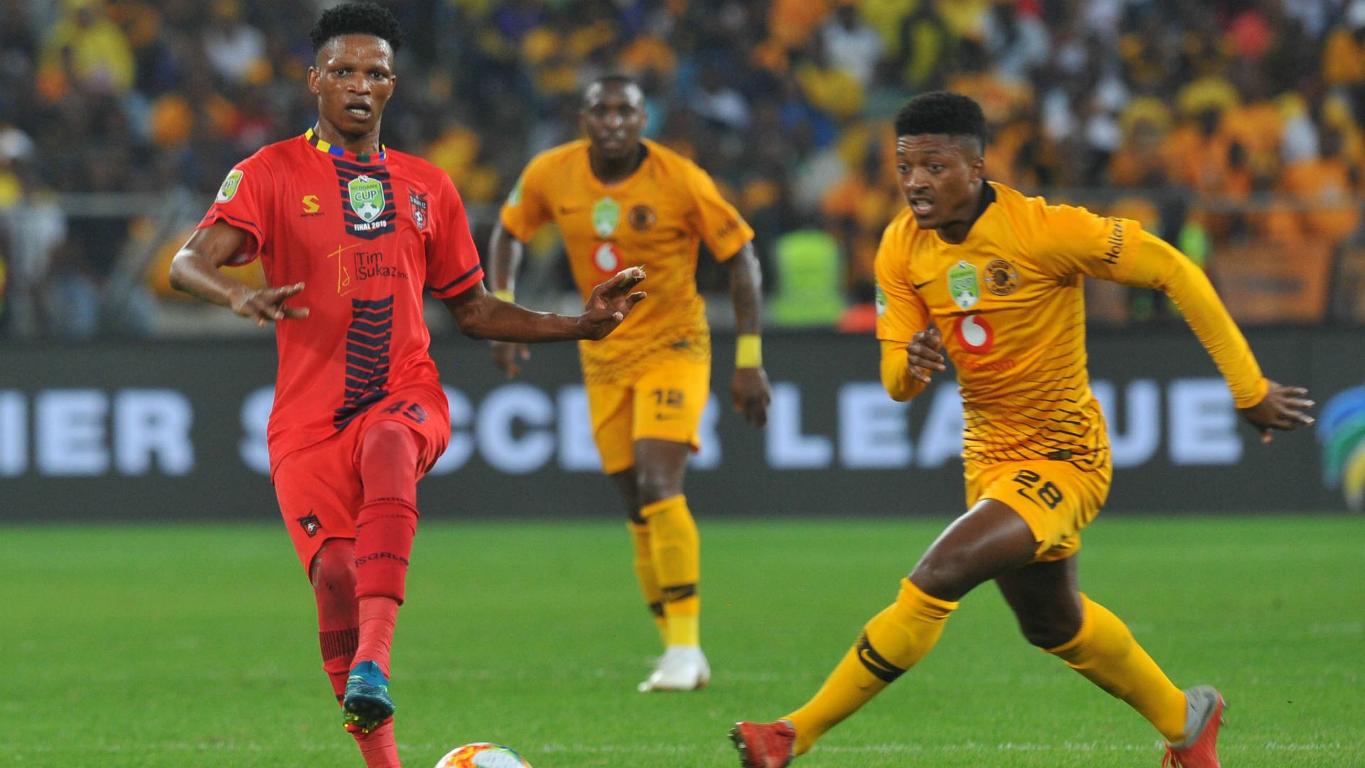 Austin Dube, TS Galaxy & Dumisani Zuma, Kaizer Chiefs, May 2019