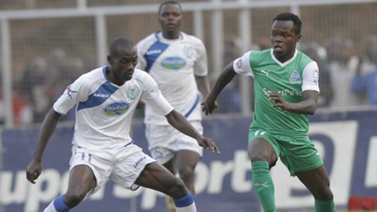 Salim Mzee tackle Gor's Amos Nondi (1).