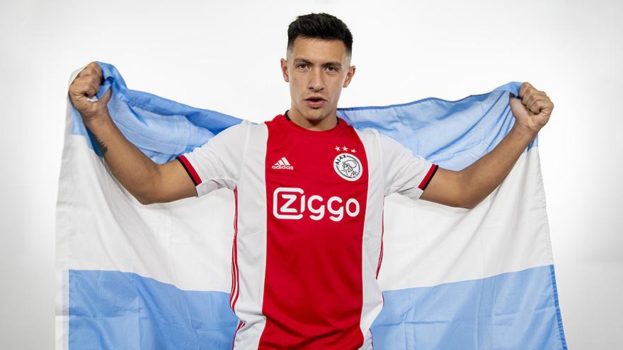 Lisandro Martinez at Ajax