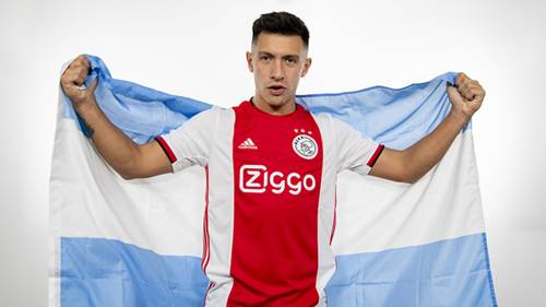 Lisandro Martinez at Ajax