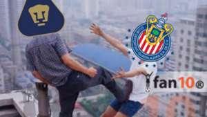 Memes Chivas Pumas Copa MX 260918