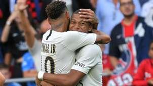 EAG PSG Kylian Mbappe Neymar Ligue 1 18082018