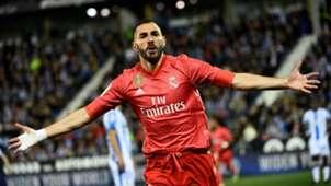 Karim Benzema Real Madrid Leganes