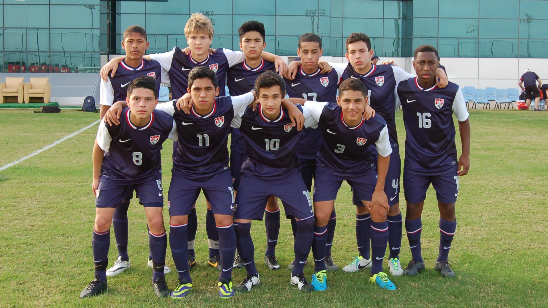Jonathan Gonzalez Tyler Adams USA U14 2016