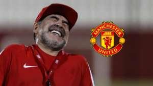 Diego Maradona se voit comme l'entraîneur idéal pour Manchester United !
